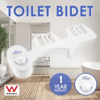 Toilet Bidet Seat Spray Attachment Hygiene Water Wash Clean Unisex Bathroom Shattaf