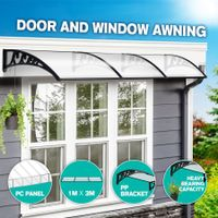New 3M DIY Window Door Awning House Canopy Patio UV Rain Cover Sun Shade Outdoor