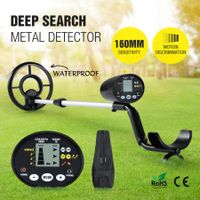 New High Sensitivity Metal Detector Treasure Hunter Searching Gold Digger W/ LCD
