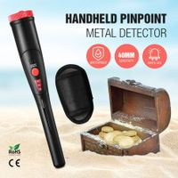 New Handheld Metal Detector Portable Pin Pointer Treasure Hunter W/ Belt Holster