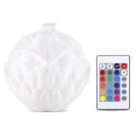 3D Printing Devil Pumpkin Face Light Night Lamp with Remote Control