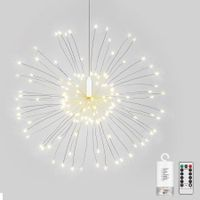 LH - BOM - YHD120WW 120 LEDs Hanging Starburst Light with Remote Control (Warmwhite)