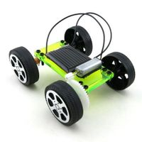 DIY Assemble Toy Set Solar Powered Car Kit Science Educational Kit for Kids Students