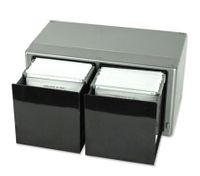 120 Disc Storage Box Case with Easy Touch Open