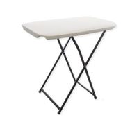 Small Folding Portable Outdoors Picnic BBQ Table - White