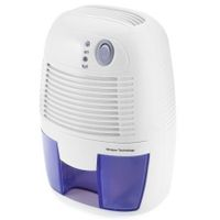 XROW - 600A Mini Air Dehumidifier Moisture Absorber with 500ML Water Tank for Home Bedroom Kitchen Office