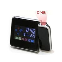 Digital Color Screen Projection Temperature Alarm Clock
