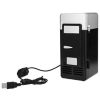 2 in 1 Mini USB Refrigerators Portable Beverage Drink Cans Cooler Warmer