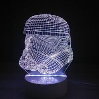 DSU Soldier Color Change 3D Visual  LED Table Night Light