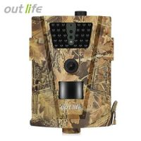 Outlife Trail Camera 12MP 1080P 30pcs Infra LEDs 850nm