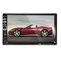 7018B 7 Inch Bluetooth V2.0 Car Audio MP5 Player Support TF MMC USB FM Radio with Camera