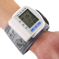 CHANGKUN Portable Automatic Digital Storage Memory Instant Read Heart Rate Wrist Blood Pressure Monitor