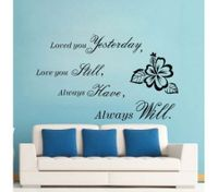 ROMANTIC CARTOON LOVE Wall Stickers