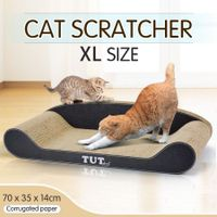 Cat Scratching Post Cat Toys Corrugated Cardboard Cat Scratcher Scratchboard - XL