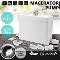 400W Macerator Sewerage Pump Domestic Waste Water Marine Bathroom Sink Disposal