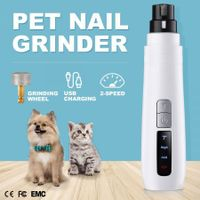 Pet Nail Grinder Dog Cat Claw Paw Toe File Grooming Trimmer Clipper Tool