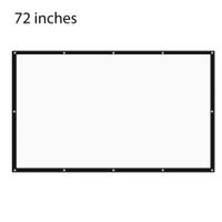 72 inch 16:9 Portable Tabletop Projector Screen