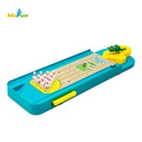 MoFun 1788 - B Mini Frog Bowling Table Desktop Game Launcher Toy