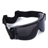 X800 Tactical CS Game Windproof Sunglasses Multifunctional Cycling Hunting Glasses