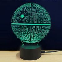 LED 3D Acrylic Ambient Lamp Night Light