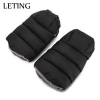 LETING Baby Stroller Warmer Water Resistance Plush Pushchair Pram Cart Gloves