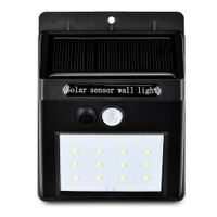 YM - SHS - 001 12 LEDs IP65 Solar Motion Sensor Wall Light