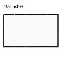 100 inch 16:9 Portable Tabletop Projector Screen