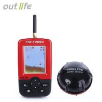 Outlife Smart Portable Fish Finder with Wireless Sonar Sensor