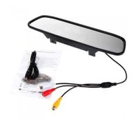 4.3 inch Color TFT LCD Car Rearview Mirror Monitor for DVD Camera VCR
