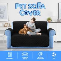 New Pet Sofa Cover Dog Cat Couch Protector Furniture Slipcover Washable - Black