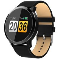 OUKITEL W1 Smart Watch Heart Rate / Blood Pressure / Sleep Monitor Funny Game Drink Water Reminder Touch Screen 150 Days Long Standby Time