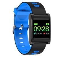 K88 Plus IP68 Long Stand-by Heart Rate Blood Pressure Monitor bluetooth Smart Wristband - Blue