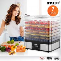 Digital Food Dehydrator Fruit Meat Vegetable Dryer Beef Jerky Maker w/7 Trays