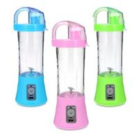 Electric Portable Juicer Cup Fruit Vegetable Juice Mixer