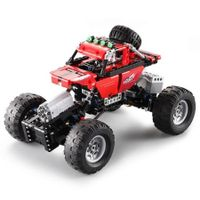 CaDA Assembling Building Blocks Off-road Car Toy with Remote Control
