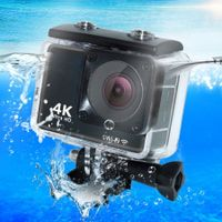 Waterproof 4K WiFi Ultra HD Waterproof Action Sport Camera-black