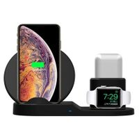 3 in 1 for Qi Wireless Charger Holder for iPhone X / 8 / 8 Plus AirPods