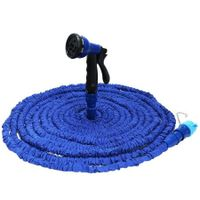 Expandable Garden Hose Pipe with 8 in 1 Spray Gun