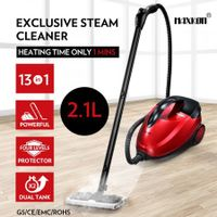 Maxkon 2.1L Steam Cleaner Mop 13-in-1 High Pressure Floor Window Carpet Steamer