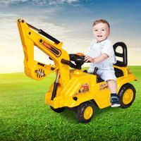Kids Excavator Ride On Digger Toy Children Bulldozer Loader Car