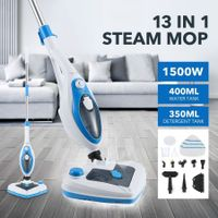 New Maxkon 13-in-1 Steam Mop Cleaner 1500W Handheld Steamer Multiple Function Floor Carpet