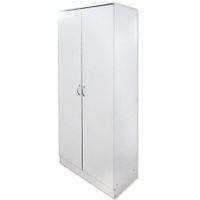 Freestanding Wardrobe Storage Unit - White