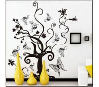 Butterfly Tree Pattern Wall Stickers DIY Removable Art Wall Sticker Decor Mural Decal