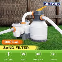 Bestway 3785L/1000gal Sand Filter Pump for Above Ground Swimming Pools