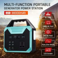 88000mAh 325WH Portable Generator Lithium Charging Power Station Camping
