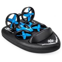 JJRC H36F RC Drone + Hovercraft Land Mode Multi-function 3-in-1 Toy Headless Mode / Speed Switching