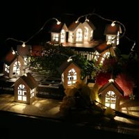 House Shaped LED String Light with 10LEDs