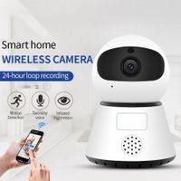 720/1080P PTZ Wireless Mini IP Camera Move Detection Infrared Night Vision Home Security Surveillance Wifi Camera Cloud Service 1080P 32G Card