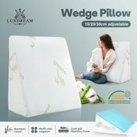 Luxdream Adjustable Wedge Pillow with Cool Gel Memory Foam