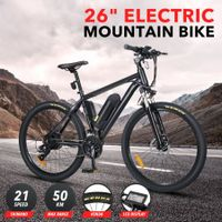 Upgraded 26'' Electric Bike eBike Mountain Bicycle 36V 250W 21 21 Speed Shifter